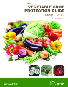 OMAFRA Vegetable Crop Protection Guide 2012-13