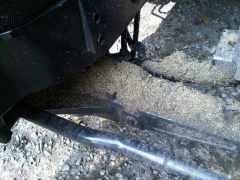 Figure 5. Weed seeds on axle of tractor