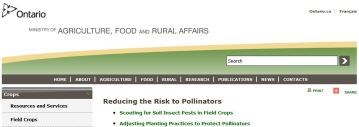 Reducing the Risk to Pollinators