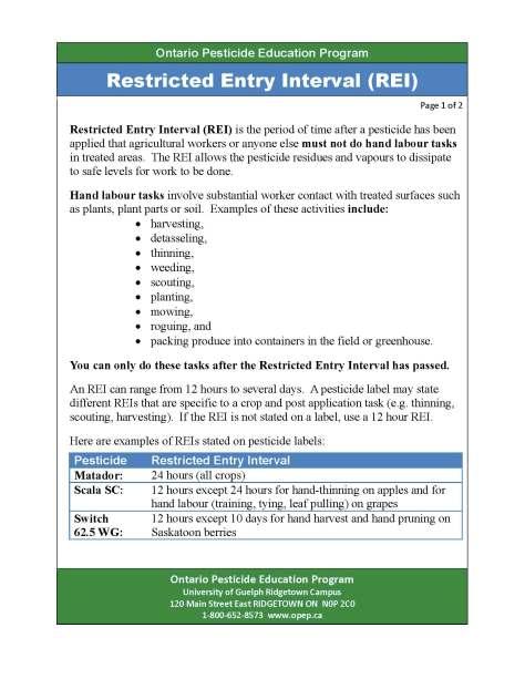 OPEP REI factsheet 2014 - 1