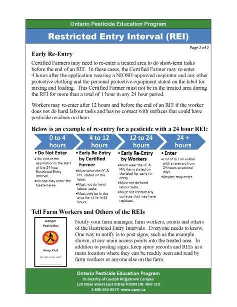OPEP REI factsheet 2014 - 2