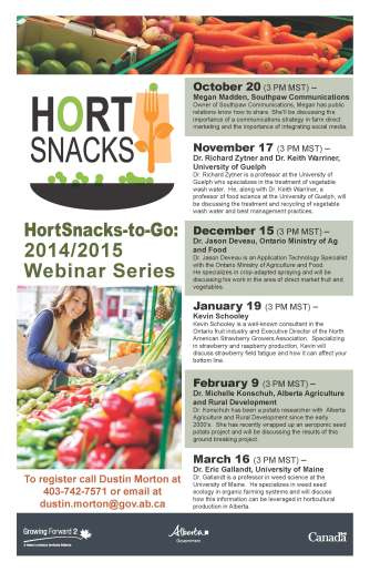 HORT SNACKS_poster