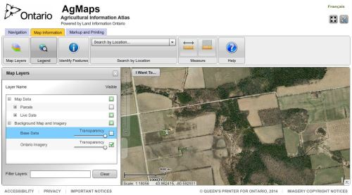 OMAFRA Agricultural Information Atlas (AIA)