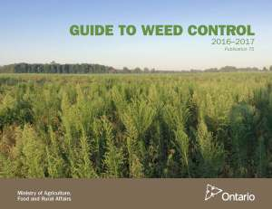 OMAFRA's 2016-17 Guide to Weed Control