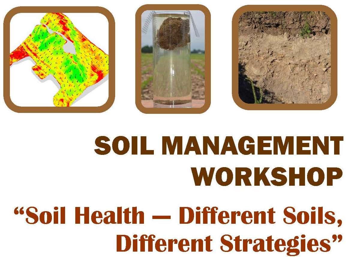 Soil management workshop onvegetables for Soil management