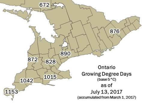 Ontario DD Map July 13